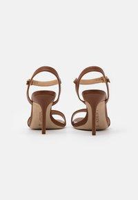 Lauren Ralph Lauren - GWEN - High heeled sandals - deep saddle tan - 3