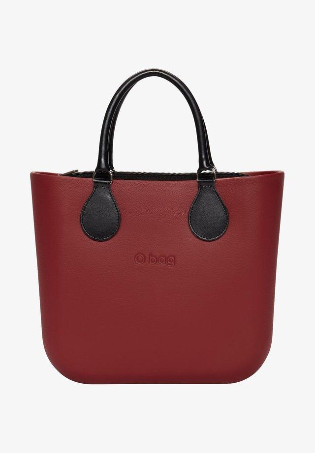 Shopping bag - ruby red