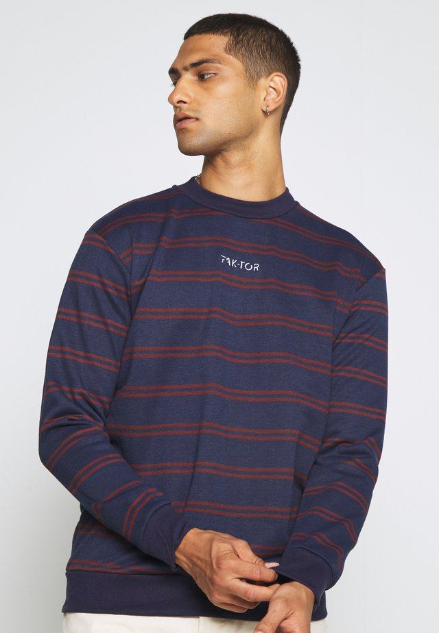 DISTRICT CREW - Sweatshirt - blue