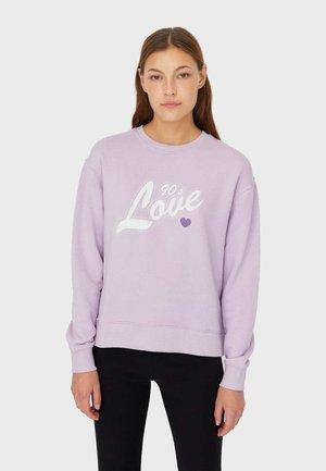 MIT PRINT  - Sweatshirt - purple