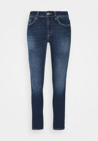 MONROE PANT - Jeans Skinny Fit - yellow thread