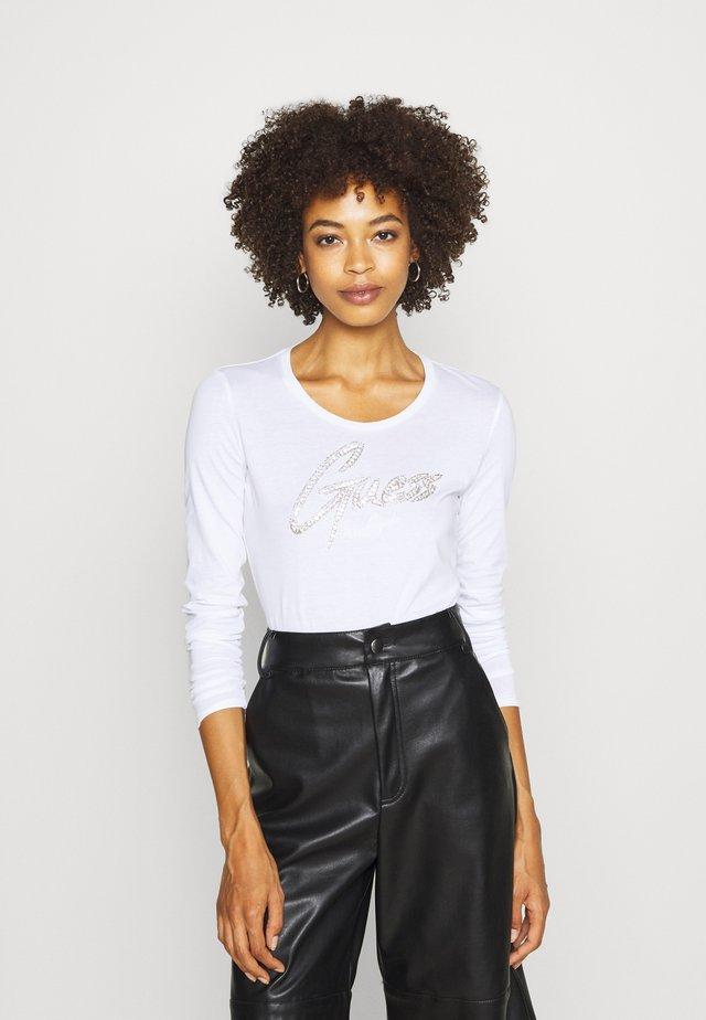 CAMILLA  - Maglietta a manica lunga - true white
