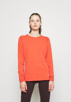 QUADRA CREW WOMENS - Long sleeved top - ephemera heather