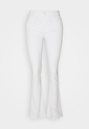 BOOTCUT LEFT HAND - Bootcut jeans - white