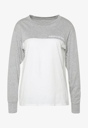BRANDED COLORBLOCK URBAN TEE - Camiseta de manga larga - gray