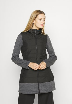 ALIVIA - Short coat - black