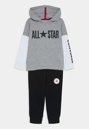 ALLSTAR HOODIE JOGGER SET  - Trainingsanzug - dark grey heather
