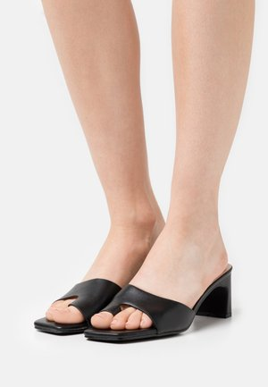 LUCIEN - T-bar sandals - black