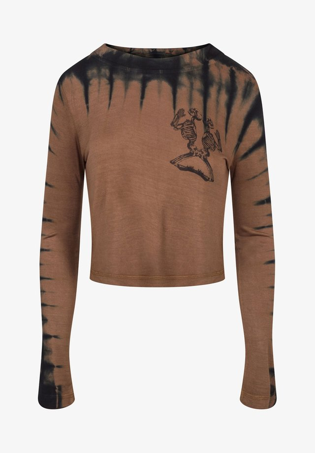 NORTH CROP - T-shirt à manches longues - cathay spice