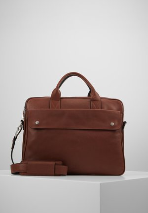 THOR BRIEF TWO ROOM - Aktovka - brown