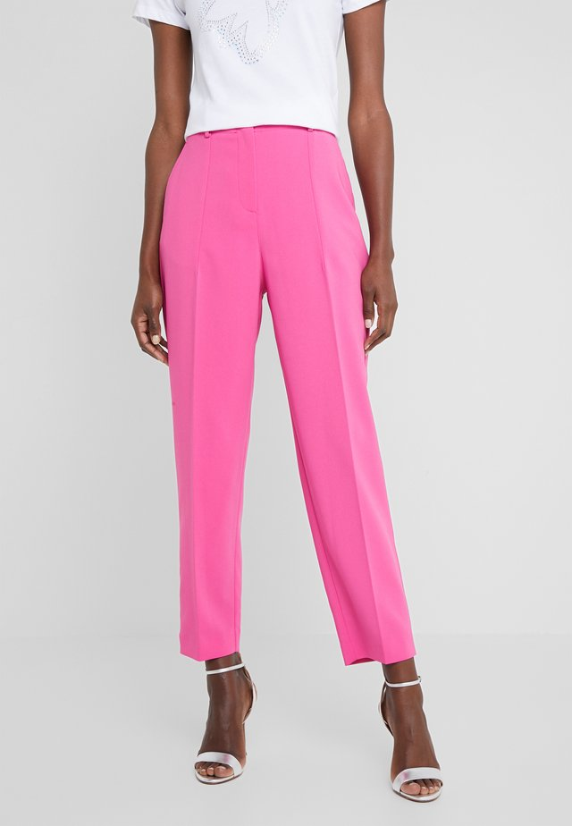 TROUSERS - Pantaloni - very berry