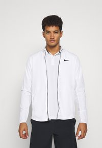 Nike Performance - Sportovní bunda - white/black - 0