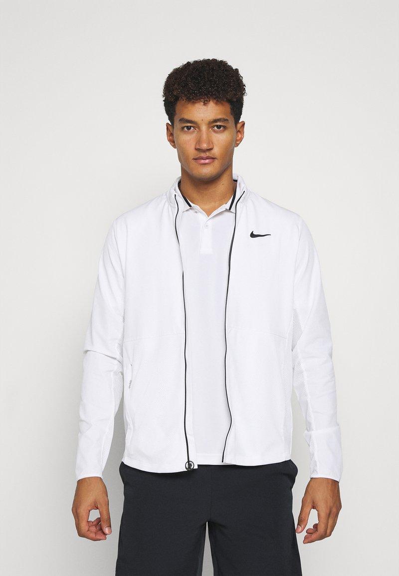 Nike Performance - Sportovní bunda - white/black