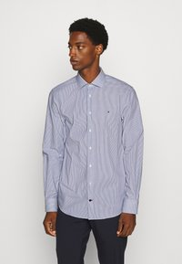 Tommy Hilfiger Tailored - STRIPE CLASSIC SLIM - Formal shirt - blue - 0