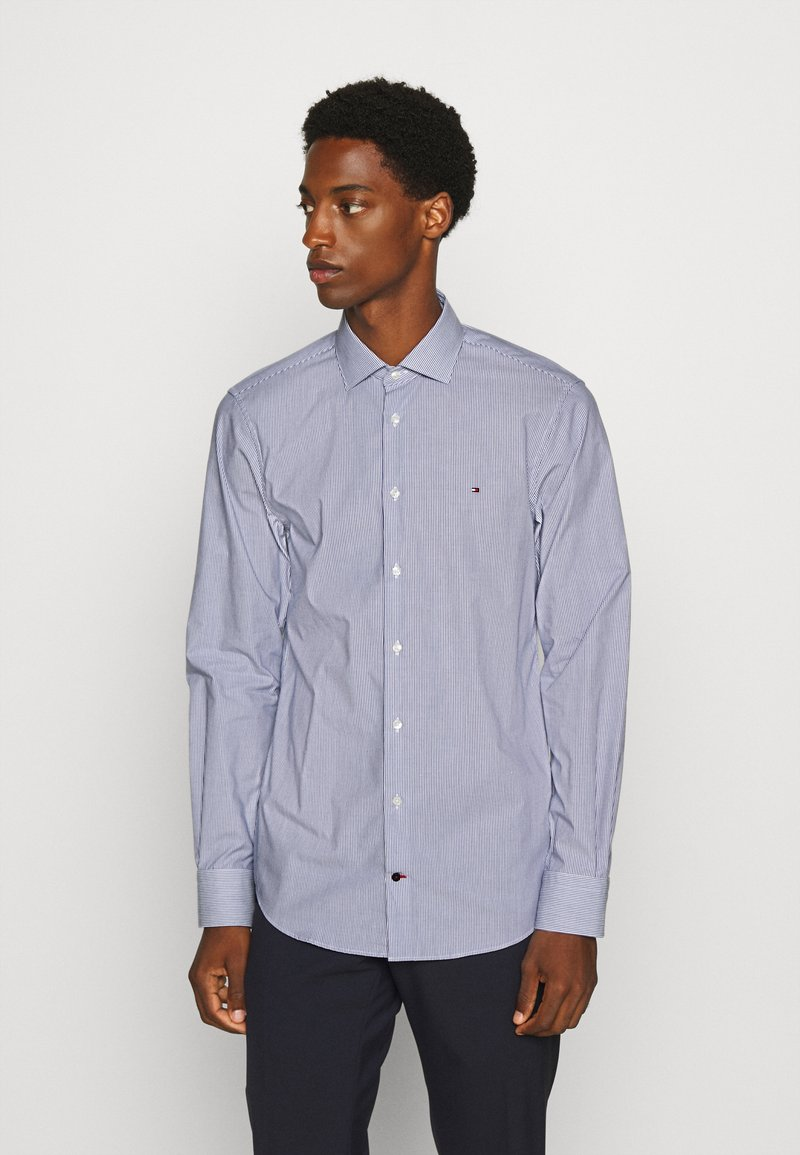 Tommy Hilfiger Tailored - STRIPE CLASSIC SLIM - Formal shirt - blue