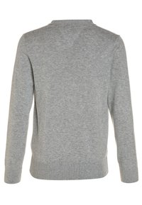 Tommy Hilfiger - BOYS BASIC CARDIGAN - Kardigan - grey heather - 1