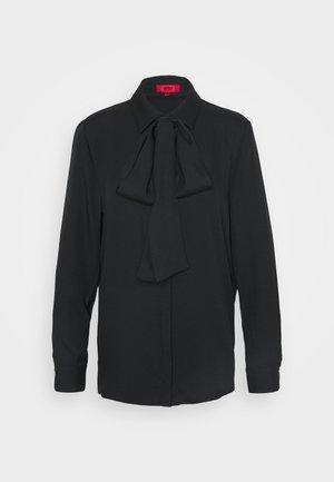 ERELLA - Button-down blouse - black