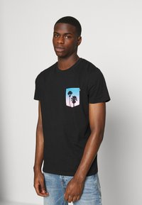 Hollister Co. - T-shirt print - black - 0
