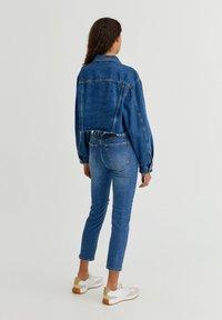 PULL&BEAR - Denim jacket - mottled blue - 8