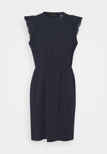 VMHOLLYN DRESS - Jersey dress - navy blazer