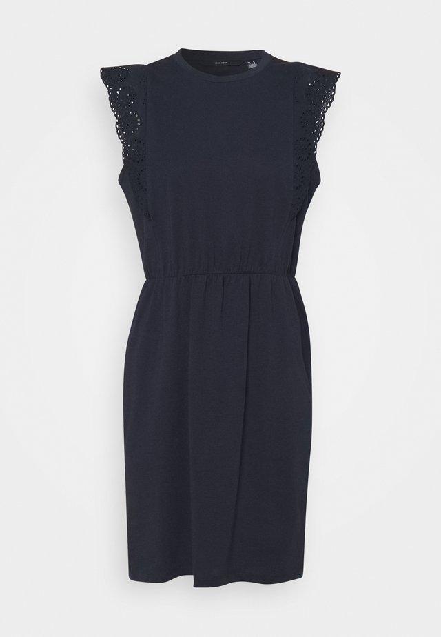 VMHOLLYN DRESS - Jerseykleid - navy blazer