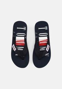 Tommy Jeans - BEACH - T-bar sandals - twilight navy - 3