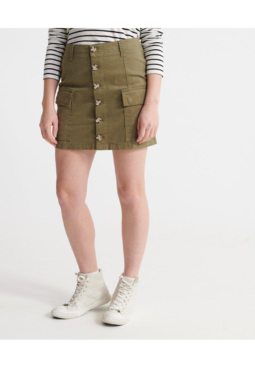 Women SUPERDRY ALCHEMY CARGO MINI SKIRT - A-line skirt