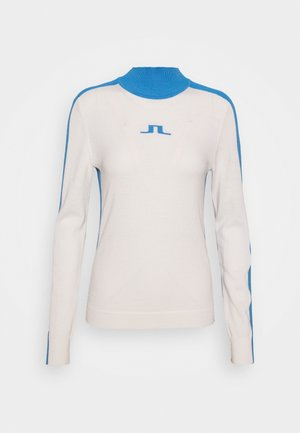 ADIA TURTLE NECK GOLF - Jumper - white