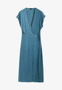 Massimo Dutti - Day dress - blue - 4