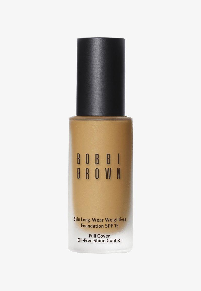 Bobbi Brown - SKIN LONG WEAR WEIGHTLESS FOUNDATION SPF15 - Foundation - D6A075 natural tan