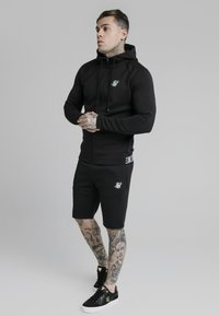 SIKSILK - EXHIBIT ZIP THROUGH HOODIE - Cardigan - black - 1