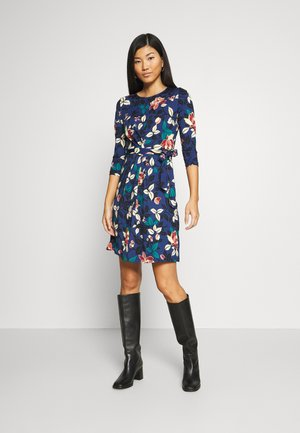 HAILEY DRESS KYOTO - Jersey dress - tokyo blue