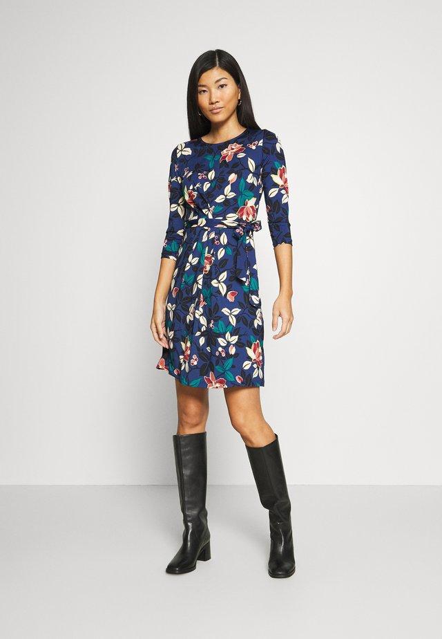 HAILEY DRESS KYOTO - Vestito di maglina - tokyo blue