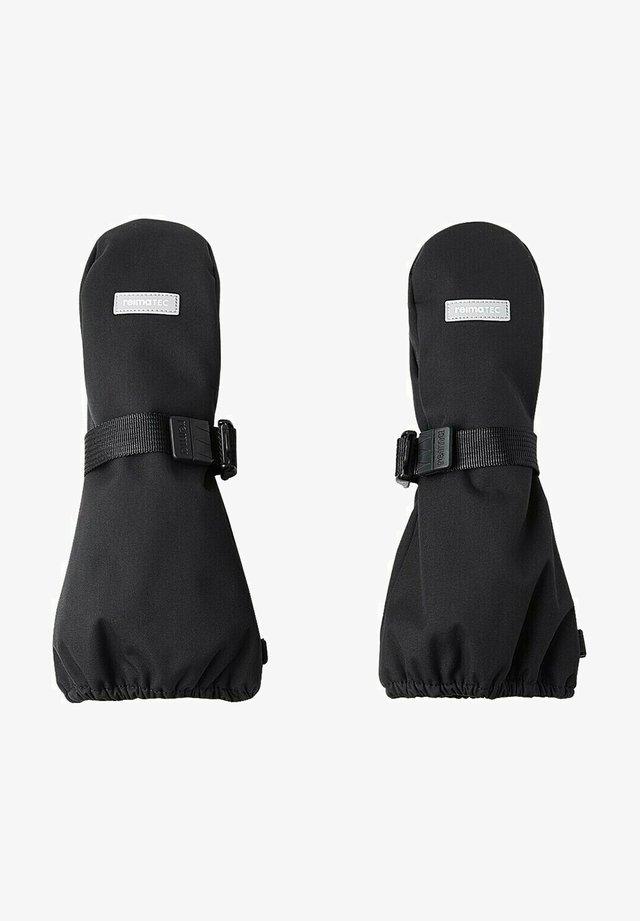 Fingerless gloves - black