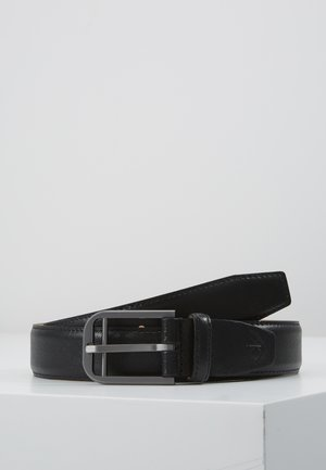 DOUBLE BAR BUCKLE - Belt - black