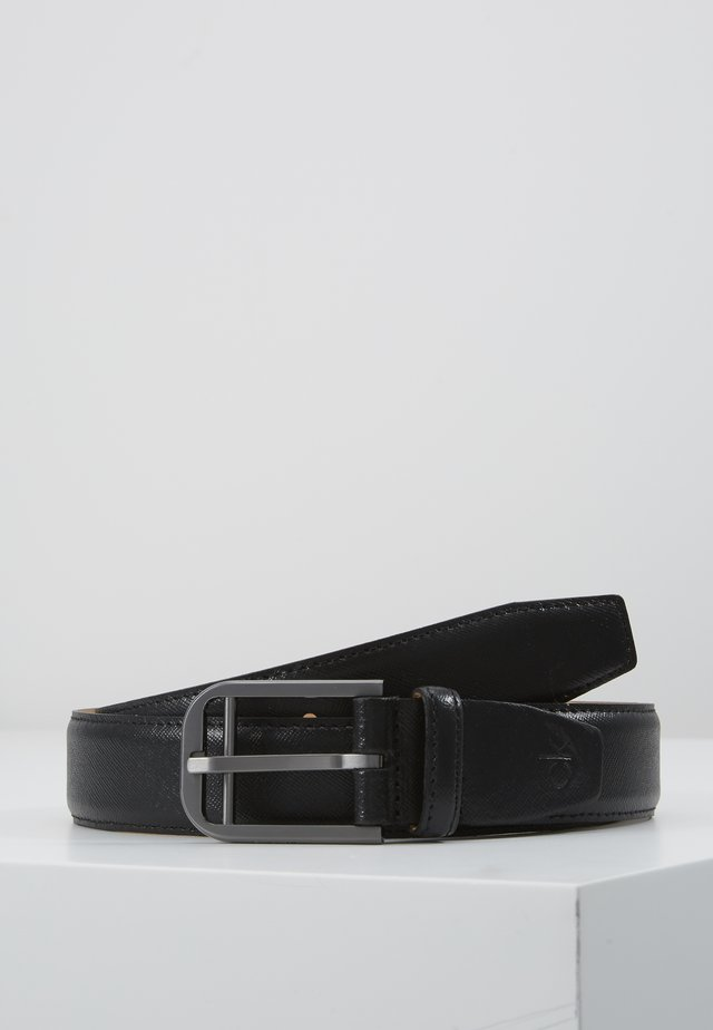 DOUBLE BAR BUCKLE - Ceinture - black
