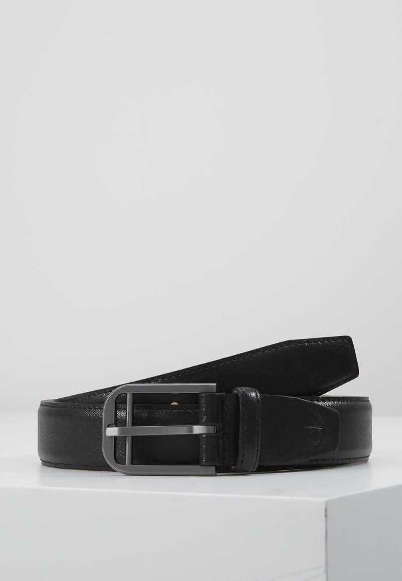 Calvin Klein - DOUBLE BAR BUCKLE - Pásek - black