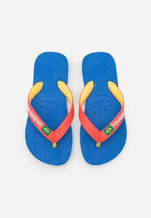 BRASIL MIX - Teenslippers - blue star/white