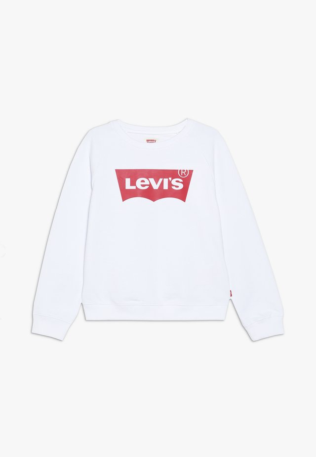 KEY ITEM LOGO CREW - Sweatshirt - red/white
