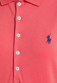 Polo Ralph Lauren - SHORT SLEEVE DAY DRESS - Maxi dress - pale red - 2