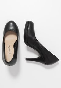 Tamaris - Zapatos altos - black matt - 3