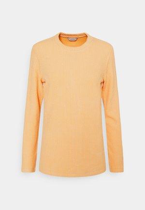 REGULAR - Long sleeved top - peach orange