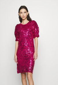 Vila - VISEQUIN SHORT DRESS - Cocktail dress / Party dress - cabaret - 1