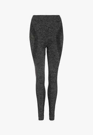 THERMO - Leggings - Trousers - dark grey melee