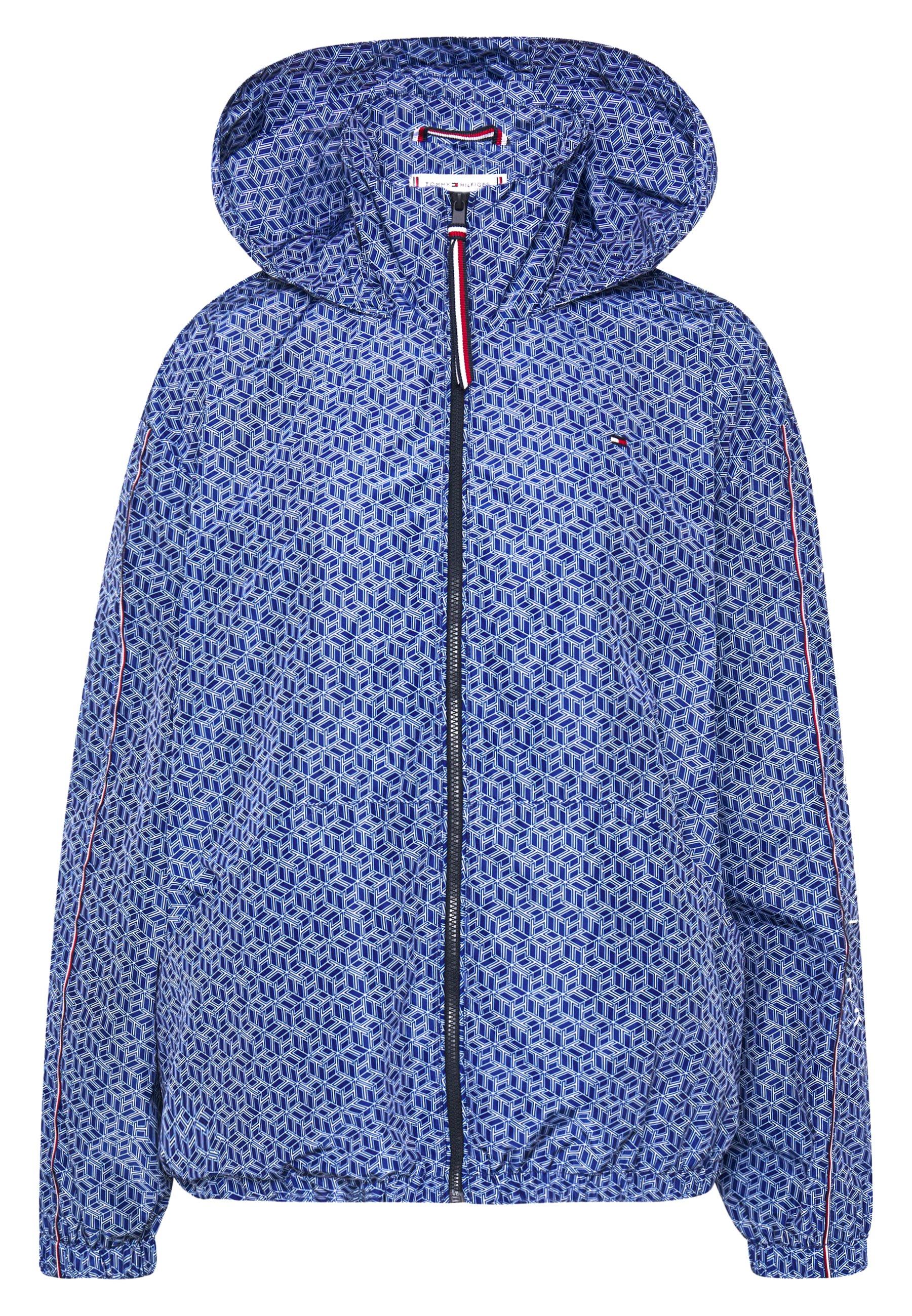 CORY FUNNEL PACKABLE Leichte Jacke blue ink