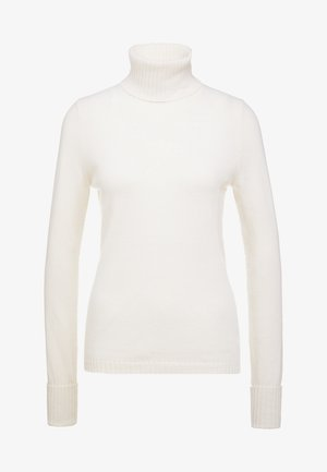 ROLLNECK - Pullover - pristine white