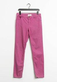 Oui - Straight leg jeans - pink - 0