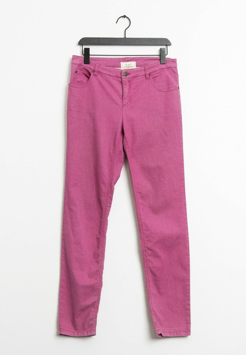 Oui - Straight leg jeans - pink