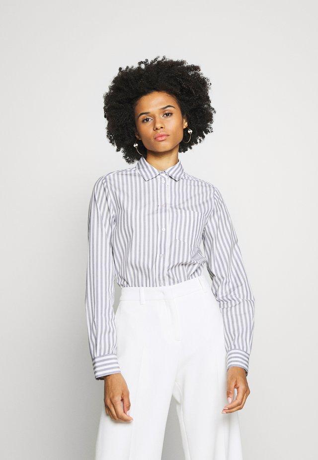 GONG - Button-down blouse - ultramarine
