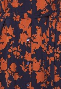 Anna Field - Day dress - dark blue/orange - 2